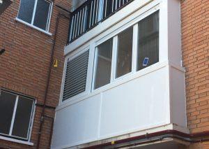 Cerramientos de terrazas con ventanas de aluminio y fijos con paneles a los mejores precios de Madrid.