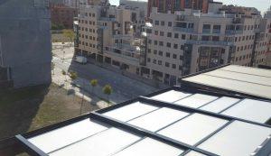 Techos de policarbonato móviles y fijos en Madrid a los mejores precios.