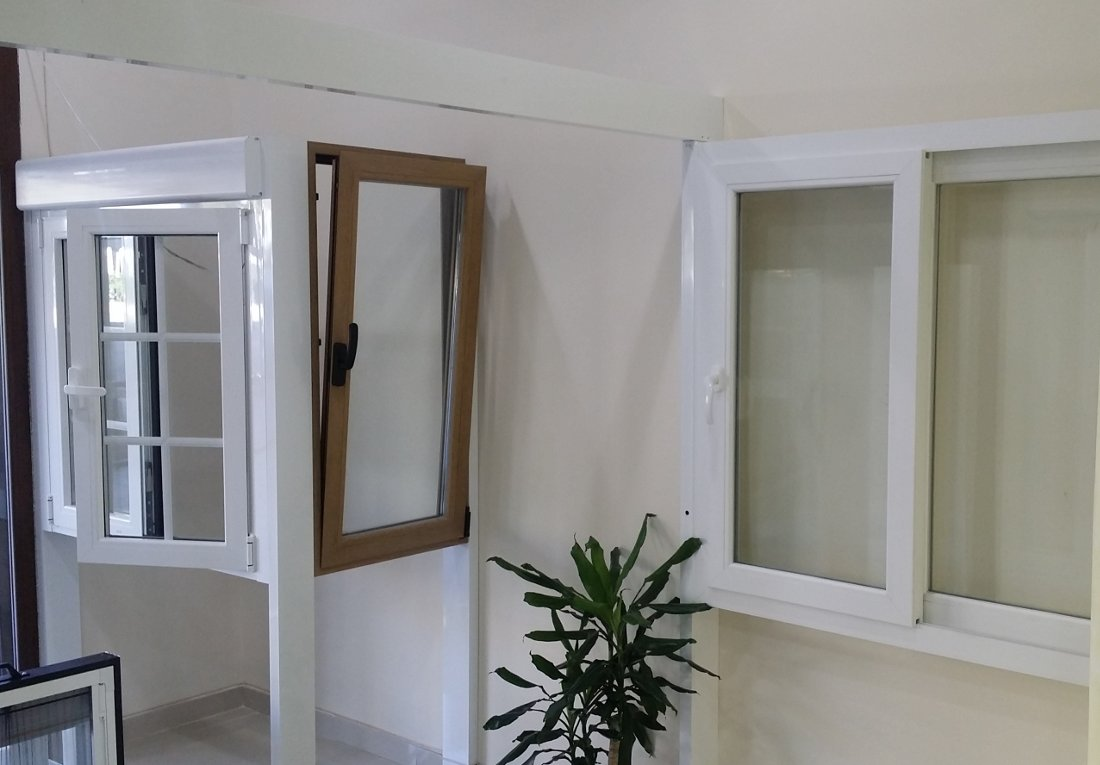 Carpinter a de aluminio y pvc en madrid ventanas aitar for Carpinteria aluminio