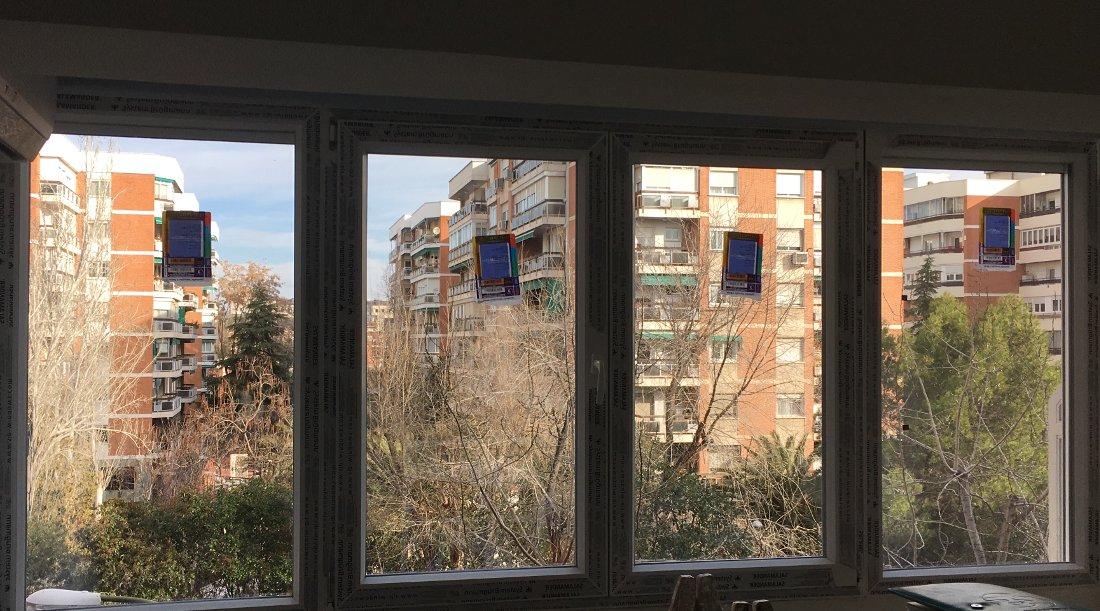 Galer a de trabajos de carpinter a de aluminio y pvc ventanas aitar - Carpinteria madrid centro ...