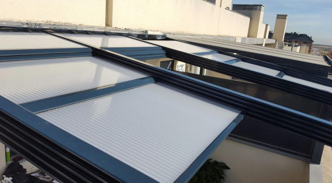 Techos m viles en madrid a los mejores precios ventanas for Techos moviles para terrazas precios