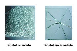 Tipos de cristales templados.